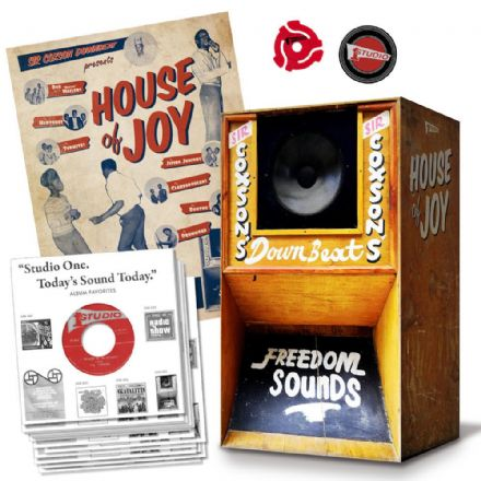 "Various - House Of Joy (Studio One / Yep Roc Music) 15x7"" Box Set  (Price with our standard 10% discount will be £144.00)"